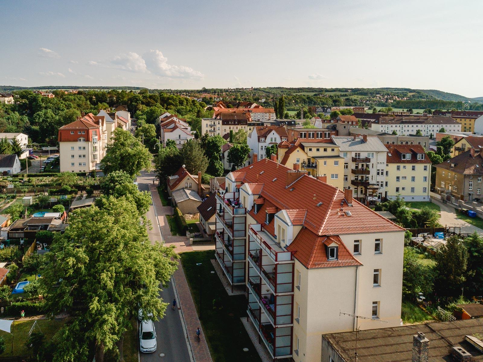 Wohnen in der Saalestraße im Siedlungsviertel Naumburgs