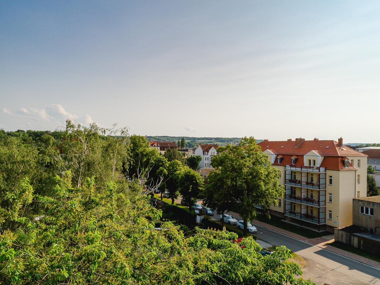 Wohnungen in der Saalestraße in Naumburg