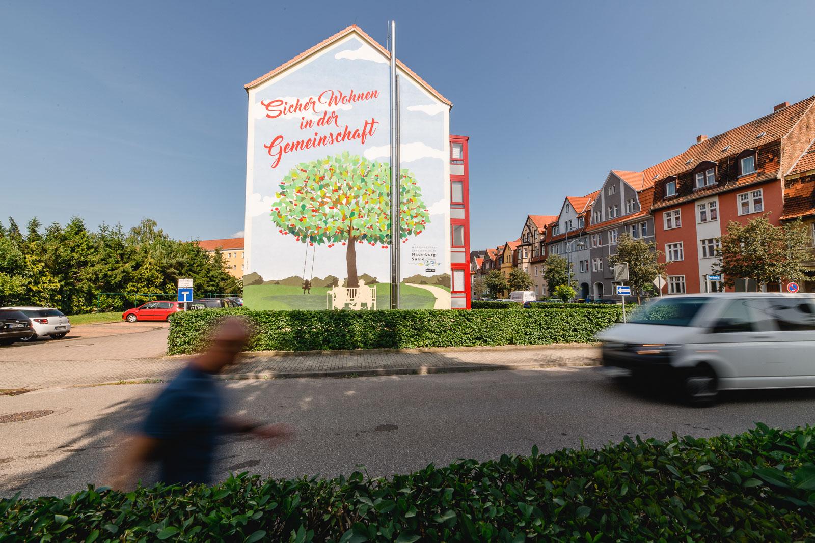 Wohnungen in der Gemeinschaft in Naumburg und Bad Kösen