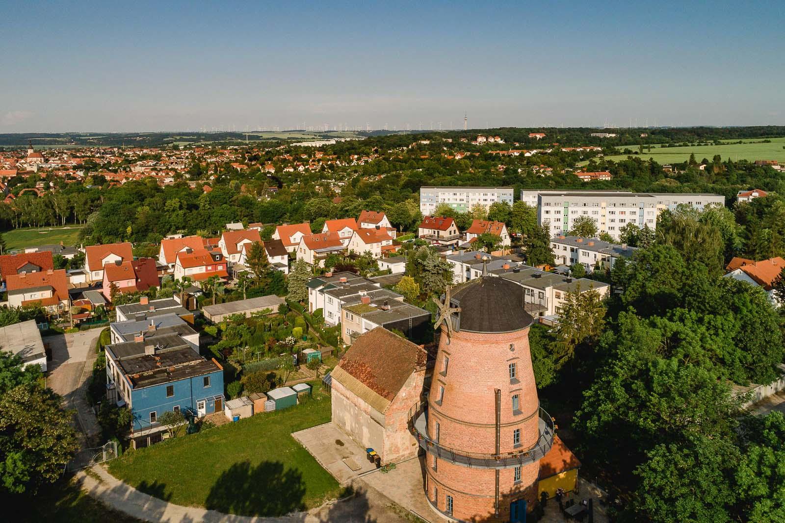 Windmühle am Holländer in Naumburg