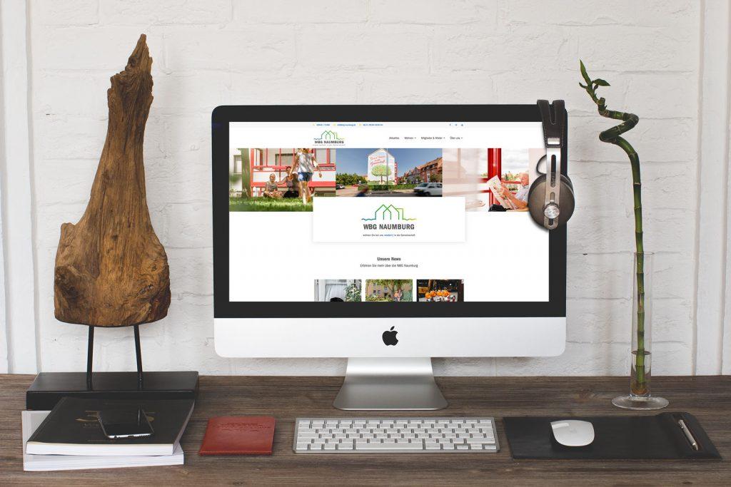 Die neue Website der WBG Naumburg
